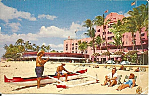 Waikiki Beach Hi Royal Hawaiian Hotel P36835