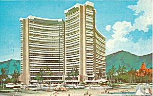 Honolulu HI Sheraton Wakiki Postcard p36844 (Image1)