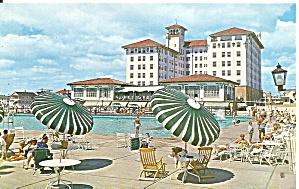 Ocean City NJ Hotel Flanders and Outdoor Pools  p36867 (Image1)