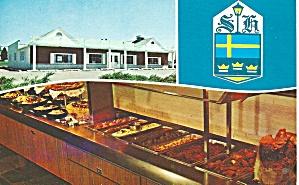 Illinois Sweden House Smorgasboard Interior Flag  p36879 (Image1)