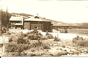 Mt Evans Road CO Echo  Lake Lodge RPPC p36907 (Image1)