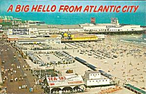 Atlantic City NJ Steel Pier Beach Boardwalk p36913 (Image1)