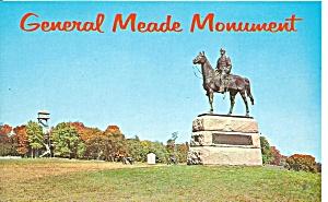 Gettysburg PA General Meade Monument p36930 (Image1)