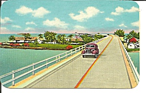 Overseas Highway To Key West Florida P36943