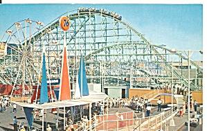 Pacific Ocean Park CA  Roller Coaster p36945 (Image1)