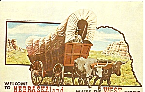 Conestogan Wagon Official Symbol Of Nebraska P36957