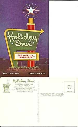 Princeton IL Holiday Inn Sign p36976 (Image1)