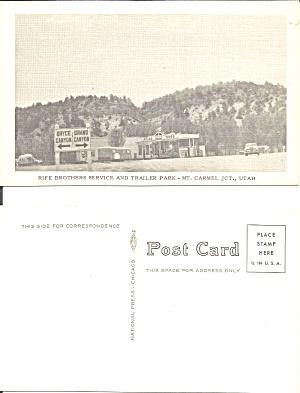 Mt Camel Junction UT Rife Bros Trailer Park p36984 (Image1)