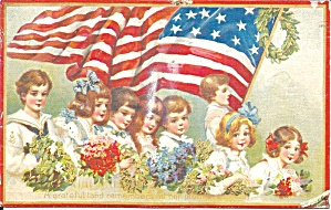 Memorial Day Repro Of Tuck Postcard P36995