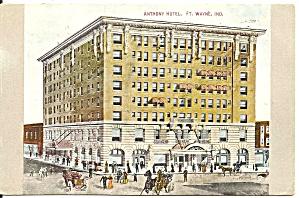 Ft Wayne IN Anthony Hotel p37000 1909 (Image1)