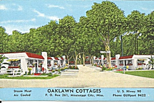 Mississippi City Ms Oaklawn Cottages P37011