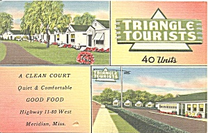 Meridian MS Triangle Tourists Court p37012 (Image1)