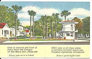 St Augustine FL Palms Hotel Cottages p37021 (Image1)