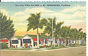 St Petersburg FL Doll Houses Tourist Cottages p37022 (Image1)