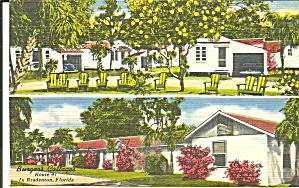 Bradenton FL Burger s  Cottages Motel p37026 (Image1)