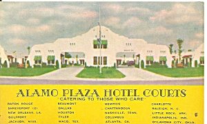 Alamo Plaza Hotel Courts Chain Motels p37028 (Image1)