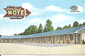 Chattanooga TN Dixie Land Motel p37030 (Image1)