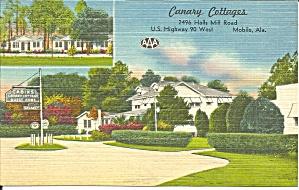 Mobile AL Canary Cottages Motel p37035 (Image1)