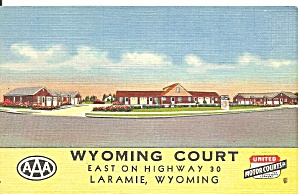 Laramie WY Wyoming Court Motel p37037 (Image1)