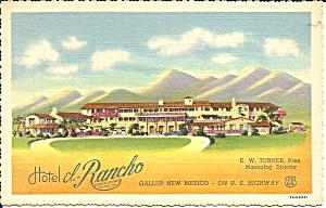 Gallup NM Hotel El Rancho  p37038 (Image1)