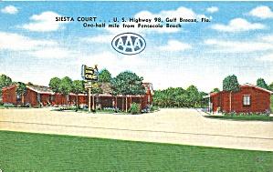 Pensacola FL Siesta Court Motel p37040 (Image1)