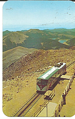 Pikes Peak CO Cog Train at Summit p37112 (Image1)