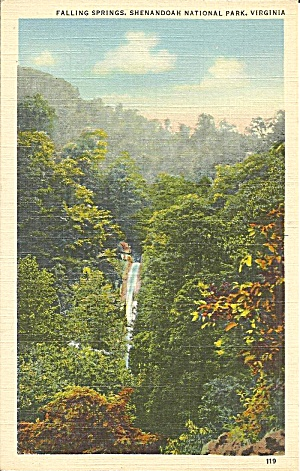 Shenandoah National Park VA Falling Springs p37135 (Image1)