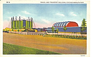 Chicago Worlds Fair 1933 Travel Transport Bldg P37168