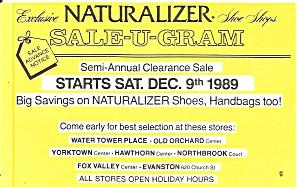 Advertising Postcard Naturalizer Shoes p37172 (Image1)