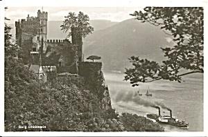 Rhein River Germany  Castle Rheinstein p37241 (Image1)