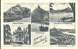 Braubach Rhein Lahn Kreis Germany Views p37254 (Image1)