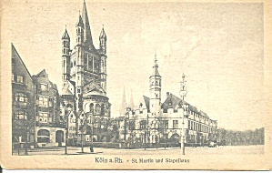 Cologne Germany St  Martin and Stapelhaus p37320 (Image1)