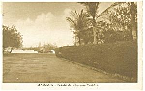 Massaua Italy Street Scene Postcard (Image1)