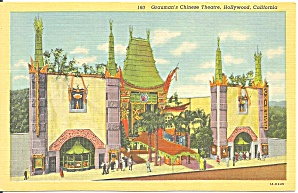 Hollywood Ca Grauman S Chinese Theatre P37369