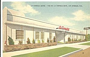 Los Angeles CA La Cienega Motel p37370 (Image1)