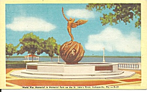 Jacksonville Fl World War Memorial P37375