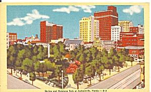 Jacksonville FL Skyline  Hemming Park p37376 (Image1)