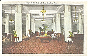 Los Angeles CA Lounge of Hotel Stillwell p37388 (Image1)