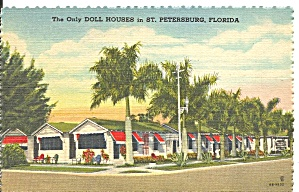 St Petersburg Fl Doll Houses Motel P37400