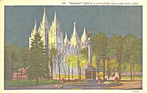 Salt Lake City UT Mormon Temple p37454 (Image1)