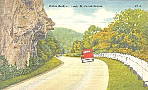 Route 42 Pa Profile Rock P37456