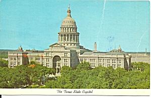 Austin Texas State Capitol Postcard p37481 (Image1)