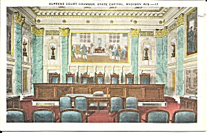 Madison WI  Supreme Court Chamber State Capitol p37507 (Image1)