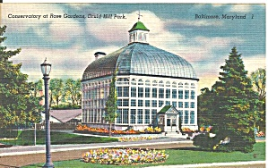 Druid Hill Park Baltimore Conservatory P37509