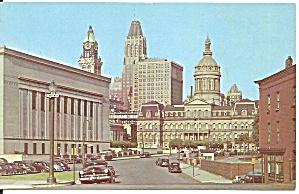 Baltimore Md City Hall Postcard P37517