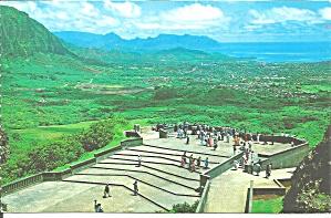 Oahu HI Nuuanu Pali Lookout p37522 (Image1)