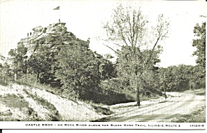 Rock River Il Castle Rock Black Hawk Trail P37534