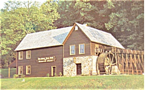 Meadow Run Grist Mill Charlottesville Va Postcard P3753