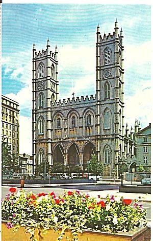 Montreal Quebec Norte Dame Basilica Exterior p37754 (Image1)