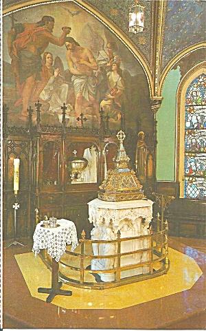 Montreal Quebec Norte Dame Basilica Baptismal Font p37755 (Image1)